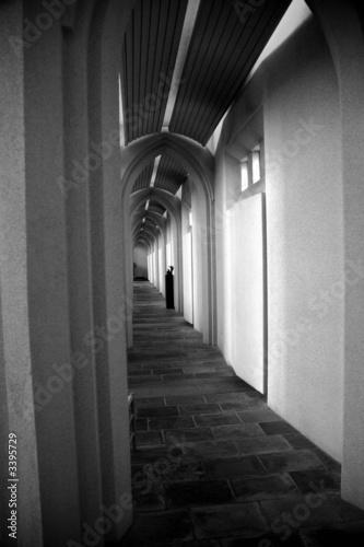 Obraz na plátně arches of hallgrimskirkja