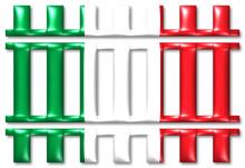 Bahn Italien Train Italy Symbol