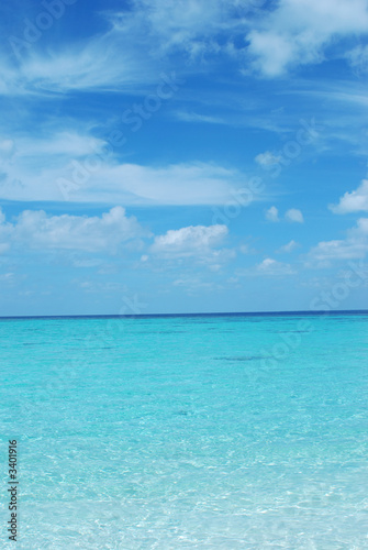 Canvas Prints Ocean maldives