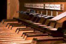 Pédalier D'orgue D'église
