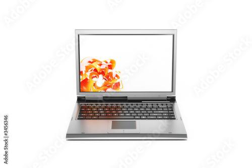 Fotomural simple laptop