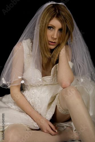 Valokuva  Unhappy bride