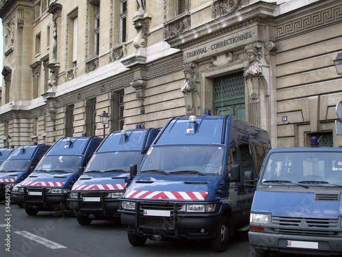 Fotografía  gendarmerie de paris