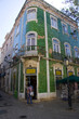 architecture in lagos town in algarve portugal