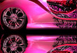 canvas print picture pink & hot
