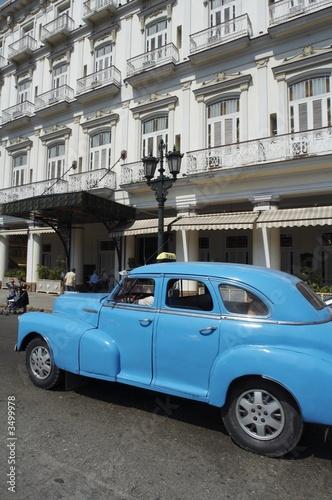 Türaufkleber Autos aus Kuba la havana