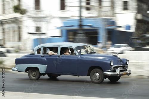 Türaufkleber Autos aus Kuba classic american cars