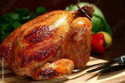Fotografie, Obraz  roast chicken