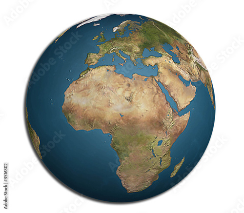 World map rendering on europe africa and asian view buy this world map rendering on europe africa and asian view gumiabroncs Gallery