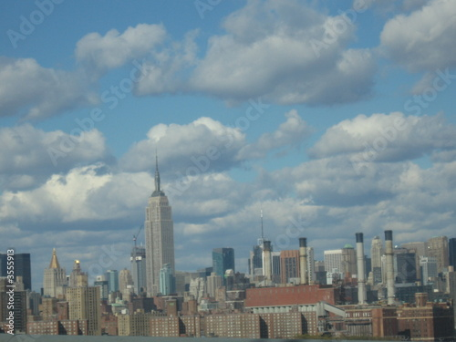 Photo  new-york centre ville gratte-ciel