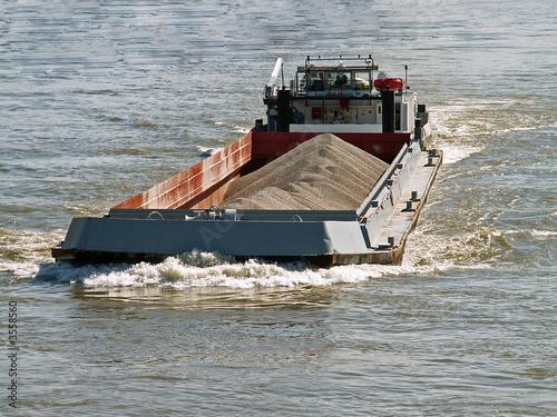 Fotografie, Obraz  transport fluvial