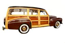40's Era Woody Station Wagon, ...