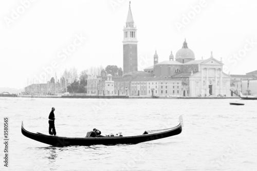 Türaufkleber Gondeln Gondole à Venise