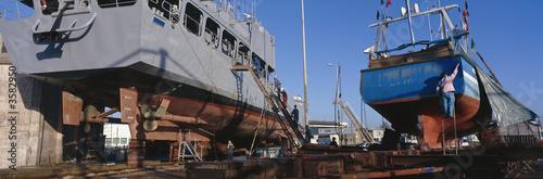 Photo chantier naval