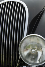 Close Up Detail Of A Classic J...