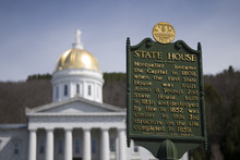 The Gold Topped State Capitol ...