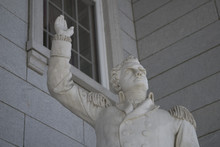 Statue Of Ethan Allen At The Vermont State House