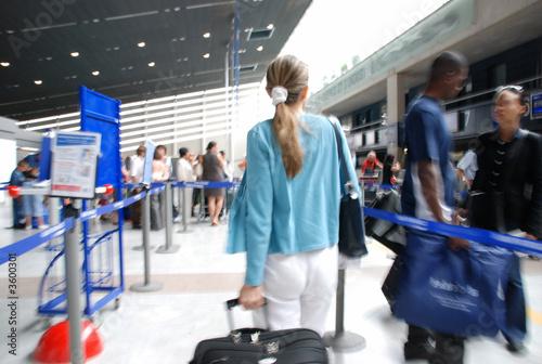 Aeroport Fototapet