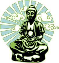 Buddha With Rays