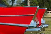 Fins Of A Classic Car