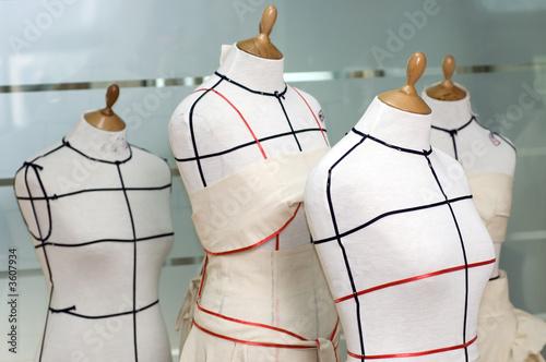 Fotografija  Four Taylor mannequines.
