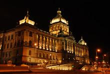 National Museum In Prague In The Czech Republic