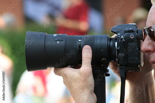 Fototapeta large lens obraz na płótnie