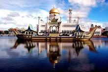La Grande Mosquee De Brunei Da...