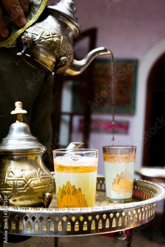 Papiers peints Maroc Tea