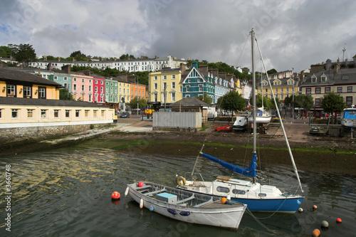 Poster Scandinavie Harbour in Town of Cobh in Ireland