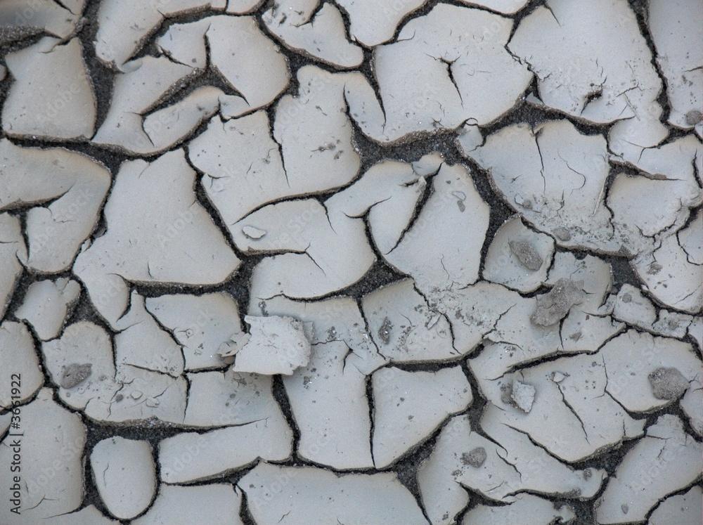 Fényképezés  fango crosta siccità