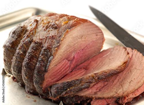 Fotografie, Obraz  carved roast beef