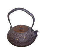 Vintage Chinese Copper Teapot