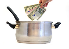 Business Recipe, Money Concept...