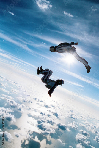 My Skydiving Canvas Print