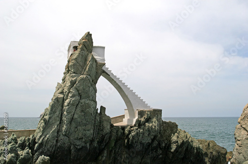 Fotografia, Obraz  Cliff Divers Platform