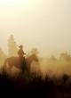 canvas print picture Peaceful Cowboy