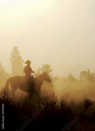 canvas print motiv - JEANNE : Peaceful Cowboy