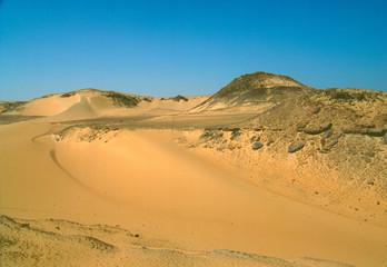 Fototapeta na wymiar Ägyptische Wüste