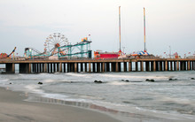 An Amusement Park In Atlantic City