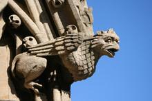 Gargoyle On Church Oxford