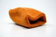 canvas print picture - orange sweat band #2