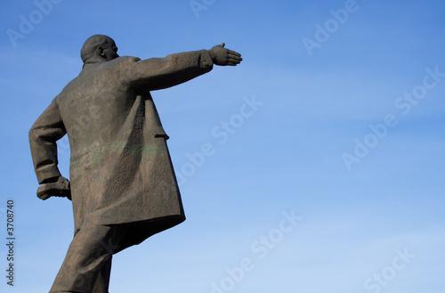 Fotografie, Obraz  Monument for Lenin