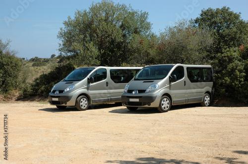 Fotografie, Obraz  sortie minibus