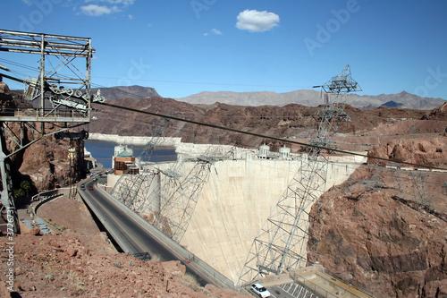 Valokuva  Hoover Dam located on the border of Nevada and Arizona.