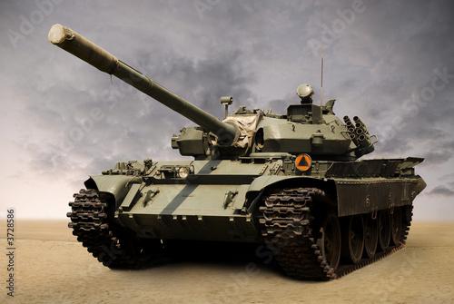 Photo  Soviet tank