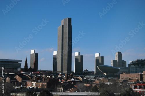 Fotografie, Obraz  Skyline of Albany, NY