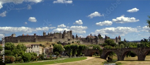 Photo Cité de Carcassonne PANORAMIQUE