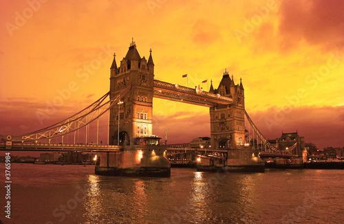 Foto-Flächenvorhang - London Tower Bridge (von Pepo)