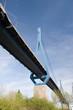 canvas print picture Koehlbrand-Bridge